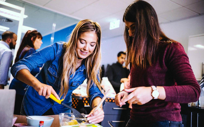 Reward Gateway Careers - We are Human - Charity Cupcakes Image