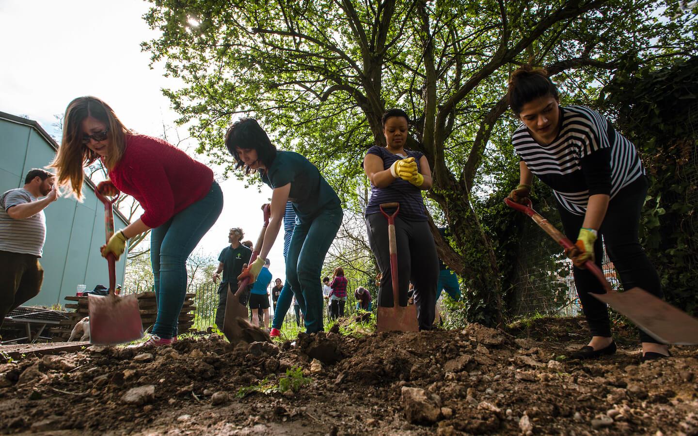 Reward Gateway Careers - We are Human - Planting Trees Image